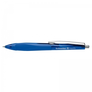 SCHNEIDER HAPTIFY RT BLUE BARREL  BLUE INK BALLPOINT PEN