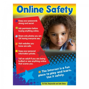 ONLINE SAFETY LEARNING CHART  PRIMARY