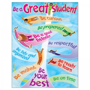 CHART HOW TO BE A GREAT STUDENT