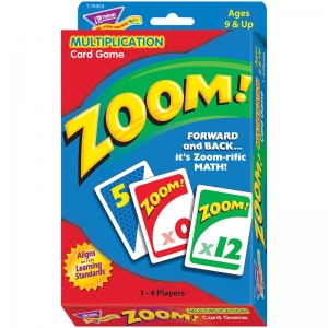 ZOOM MULTIPLICATION CARD GAME