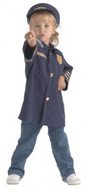 DRAMATIC DRESS UPS COMMUNITY  HELPER COSTUMES POLICE OFFICER