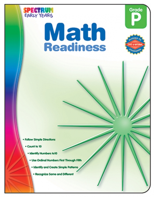 MATH READINESS SPECTRUM EARLY YEARS