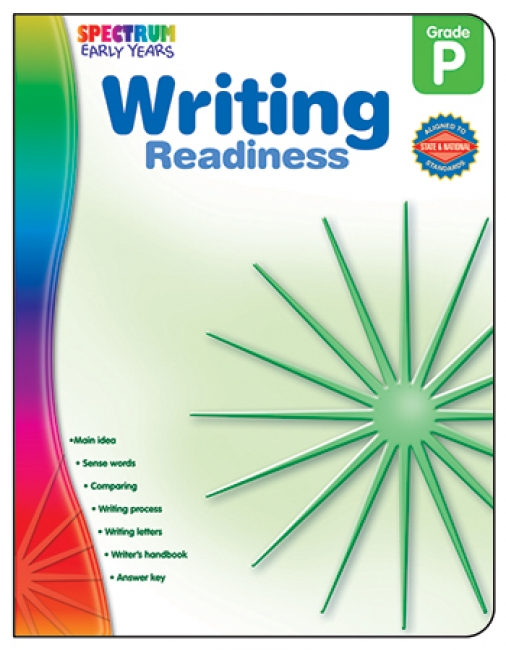 WRITING READINESS SPECTRUM EARLY