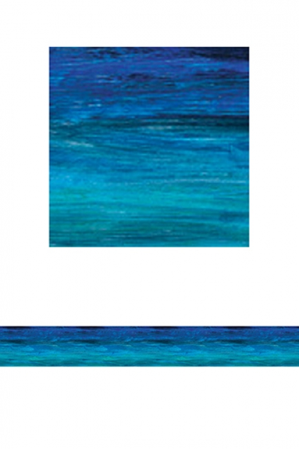 SHADES OF BLUE STRAIGHT BORDER