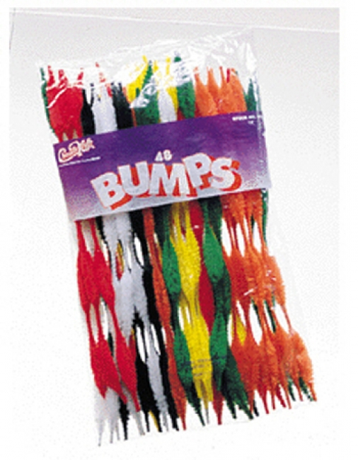 CHENILLE BUMPS ASSORTED