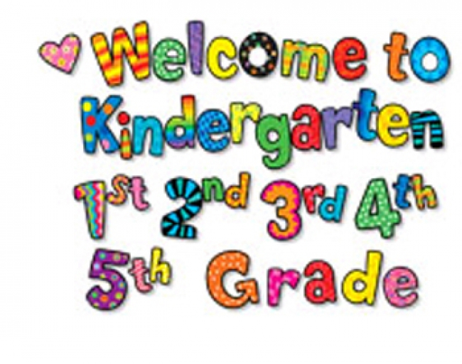 WELCOME TO KINDERGARTEN 1ST 2ND 3RD  4TH 5TH GRS MINI-BB