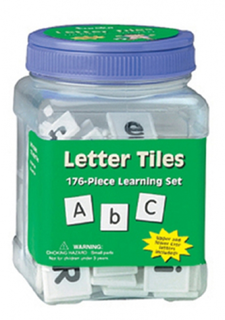 LETTER TILES UPPER & LOWER 176/PK