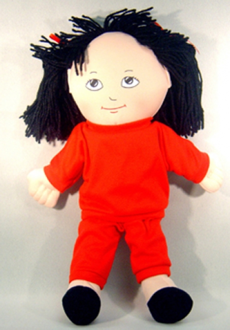 DOLLS ASIAN GIRL DOLL SWEAT SUIT