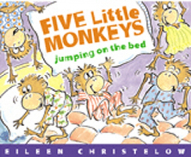FIVE LITTLE MONKEYS JUMPING ON THE