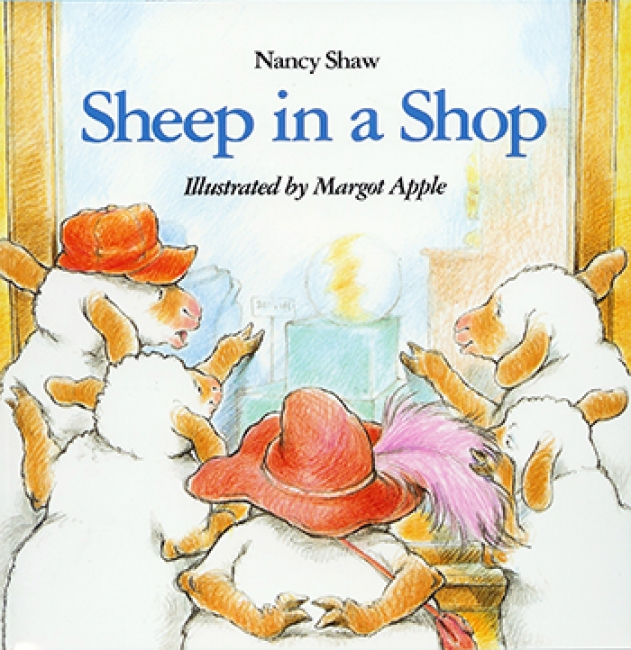 CARRY ALONG BOOK & CD SHEEP IN A  SHOP