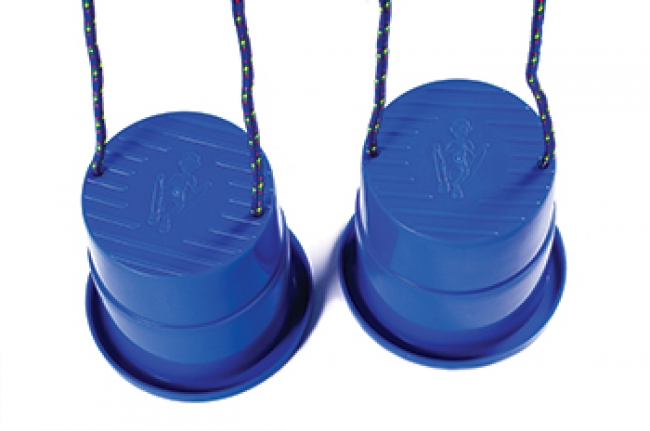 EZ STEPPER ROYAL BLUE 1PAIR INDOOR  OR OUTDOOR FUN