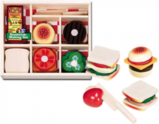 SANDWICH-MAKING SET