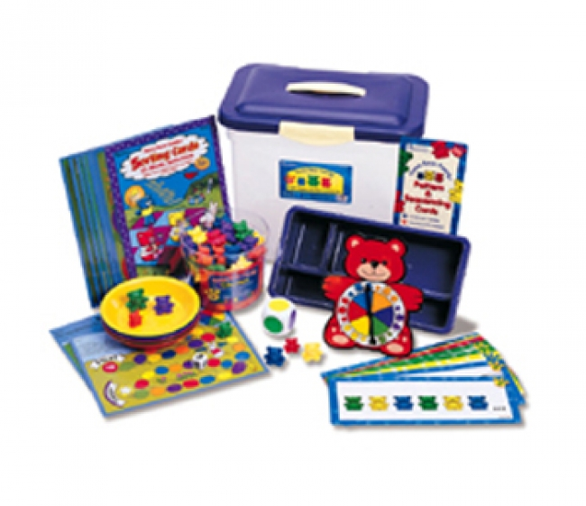 THREE BEAR FAMILY SORT PATTERN PLAY  GR PK-2 ACTIVITY SET