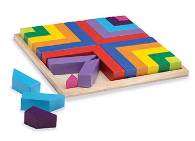 PATTERN PLAY BLOCKS AGE 2 & UP