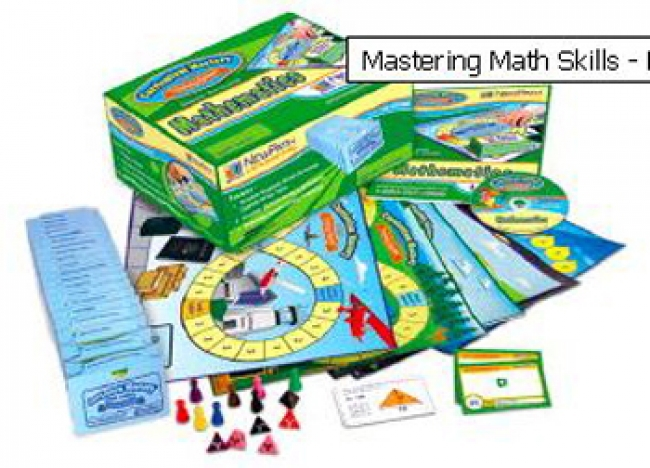 MASTERING MATH SKILLS GAMES CLASS  PACK GR 1