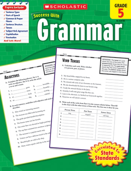 SCHOLASTIC SUCCESS GRAMMAR GR 5