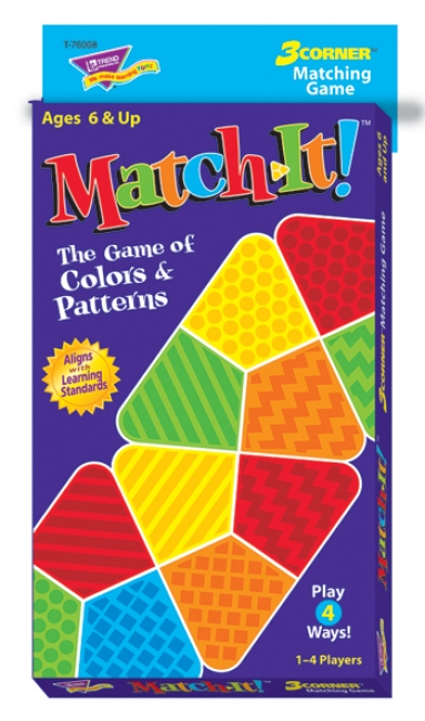 3 CORNER MATCHING GAMES MATCH-IT