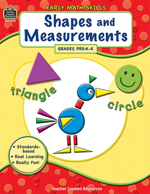 GR PK-K EARLY MATH SKILLS SHAPES &  MEASUREMENTS