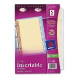 Insertable Tab Index Dividers