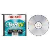 CD-RW 80 M Rewritable Jewel