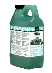 Green Solutions  Glass Cleaner 102 - 2 Liter 4/Cs