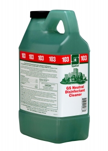 GS Neutral Disinfectant Cleaner 103 - 2 Liter 4/Cs