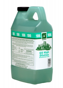 GS High Dilution Disinfectant 256  106 - 2 Liter 4/Cs