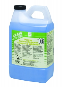 Peroxy Protein Remover Cleaner & Whitener   16 - 2 Liter 4/Cs