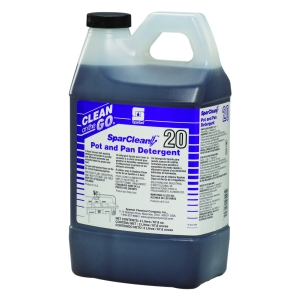 SparClean Pot and Pan Detergent 20 - 2 Liter 4/Cs