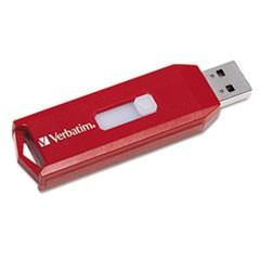 Store 'n' Go USB 2.0 Flash Drive, 32GB, Red