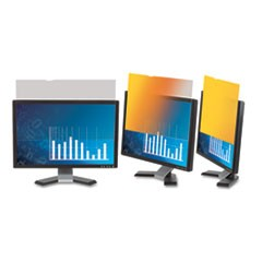 "Frameless Gold LCD Privacy Filter for 19"" Monitor"