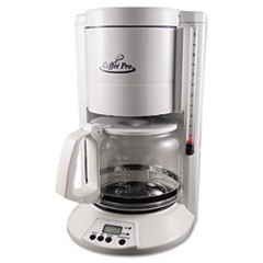 Home/Office 12-Cup Coffee Maker, White