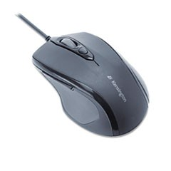 Pro Fit Wired Mid-Size Mouse, USB, Black