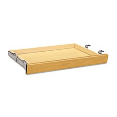 Laminate Angled Center Drawer, 26w x 15 3/8d x 2 1/2h, Harvest