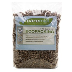 EcoPacking 3-Ply Cushioning Fill, Recycled, 0.31 Cubic Ft Bag
