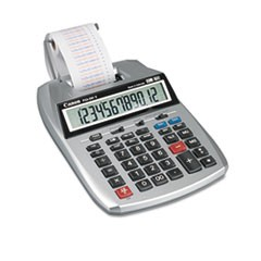 P23-DHV 12-Digit Printing Calculator, Purple/Red Print, 2.3 Lines/Sec