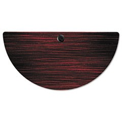 Alera Valencia Series Training Table Top, Half-Round,47-1/4w x 23-5/8d, Mahogany