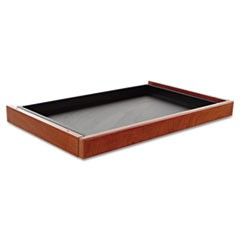 Alera Valencia Series Center Drawer, 24 1/2w x 15d x 2h, Medium Cherry