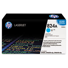 HP 824A, (CB385A) Cyan Original LaserJet Imaging Drum