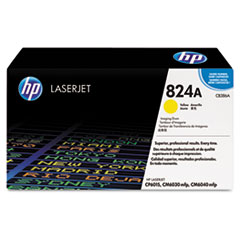 HP 824A, (CB386A) Yellow Original LaserJet Imaging Drum