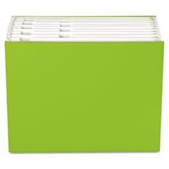 "Case File, 12 Pocket,  3/4"" exp., Letter, Green, 1/ea"