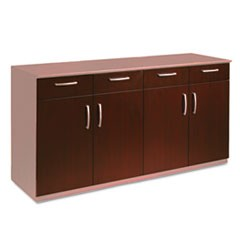 Wood Veneer Buffet Credenza Doors, Sierra Cherry