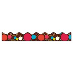 "Bordette Dots Design Decorative Border, 2 1/4"" x 25ft, Assorted Colors"