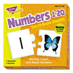 Fun to Know Puzzles, Numbers 1-20