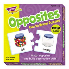 Fun to Know Puzzles, Opposites
