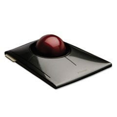 SlimBlade Trackball, Graphite w/Ruby Red Trackball