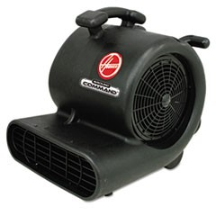 Ground Command Super Heavy-Duty Air Mover, 12 A, 30lb, Black