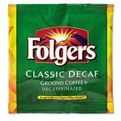 Coffee Filter Packs, Decaffeinated, In-Room Lodging, .6 oz, 200/Carton