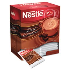 Hot Cocoa Mix, Dark Chocolate, 0.71 oz, 50/Box