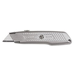 Interlock Retractable Utility Knife, Metal